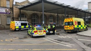 A man was arrested at Hull railway station
