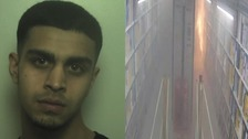 Adris Ali set fire to a stack of papers at the Amazon warehouse in Rugeley.