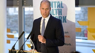 Prince William launches project to tackle poor mental health at work
