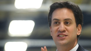 Ed Miliband told by-election campaigners in Eastleigh of his 'mansion tax' and 10p tax rate plans.