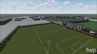 The club have unveiled plans to spend up to £20m on their training ground