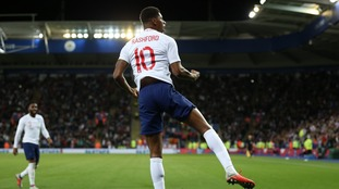 Marcus Rashford's second-half volley ensure England returned to winning ways as they beat Switzerland at the King Power