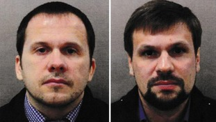Alexander Petrov (left) and Ruslan Boshirov were named as the prime suspects