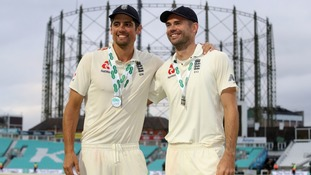 Anderson delighted to become world's most successful pace bowler but sad to wave goodbye to close friend Cook