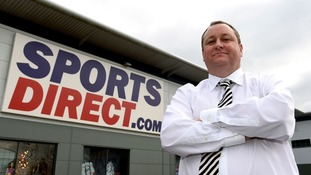 Ashley is the founder of Sports Direct and owner of Newcastle United.