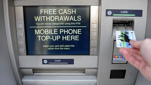 76 protected free-to-use ATMs closed between the start of February and July.