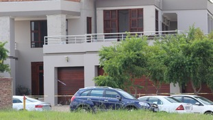 The home of Paralympic athlete Oscar Pistorius where he allegedly shot his girlfriend.