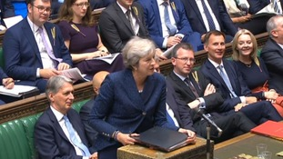 Many Tory MPs opted to wear the accessory as part of the campaign but Mrs May did not.