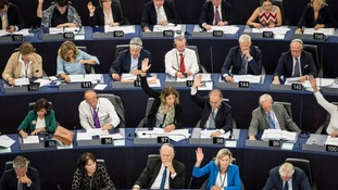 Members of the European Parliament voted for new copyright rules on Wednesday.