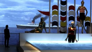 Exhibits in the Ocean Liners Speed and Style gallery