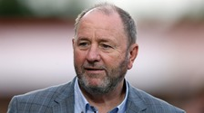 Gary  Johnson left Cheltenham Town in August.