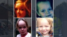 Demi, Brandon, Lacie, and Lia were sleeping when their house was torched with petrol bombs.