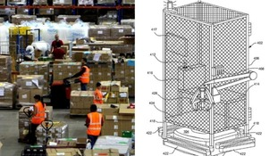 Amazon gets backlash (and some support) for 'working cell' patent design to put staff in cages