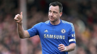 John Terry captained Chelsea to FA Cup glory last year.