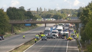 Fatal M5 crash in Somerset claims lives of two people