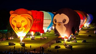 Longleat going for hot air balloon record