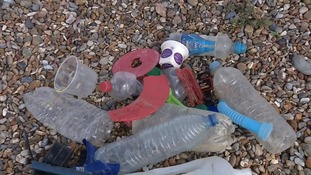 Volunteers help clear the region's beaches