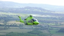 New air ambulance can save lives of children