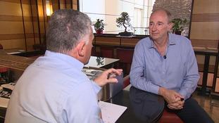 Jonathan Agnew talks to ITV News Anglia about his cricketing life