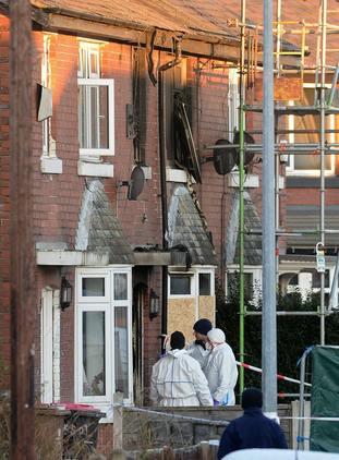 Worsley house fire