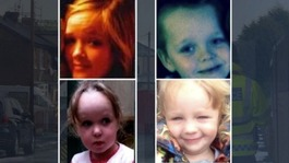 Funeral for four children killed in arson attack