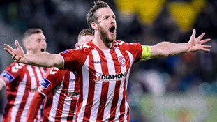 Derry City's Ryan McBride, who was found dead at the age of just 27
