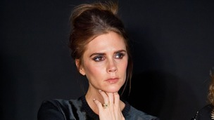 Victoria Beckham judges the 2013 International Woolmark Prize Final as part of London Fashion Week.