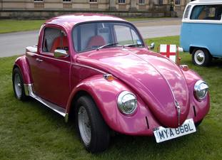 A Beetle on show at a Volkswagen festival (Alistair Wilson 50/50/PA)
