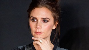 Victoria Beckham judges the contest.
