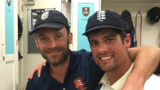 Foster acting as bodyguard for Alastair Cook