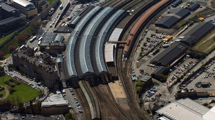 The incident happened in the surrounding areas of York station