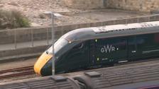GWR express train