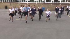 Children are taking part in 'The Daily Mile'