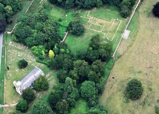Aerial photos of Londesborough Hall
