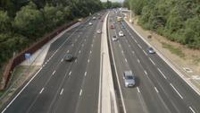Thousands break the law on smart motorways
