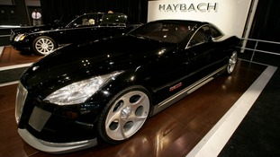 It is believed Jay-Z paid $8m for his Maybach Exelero.