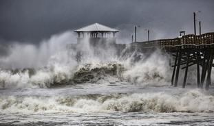 Hurricane Florence menaces the coast