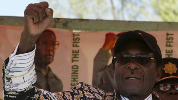 "Ministers have dismissed rumours about Mugabe's poor health as ""hogwash""."