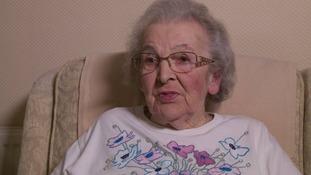 Olga Allen had her purse stolen in a distraction theft in Worcester.
