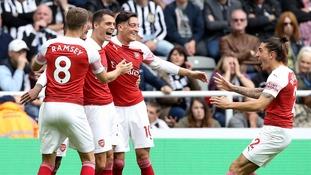 Premier League: Ozil and Xhaka on the scoresheet as Arsenal beat Newcastle