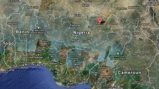 Image result for google map nigeria