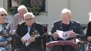 D-Day veterans honoured to receive France's highest military award