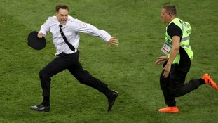 Mr Verzilov was one of four Pussy Riot members who invaded a World Cup pitch.