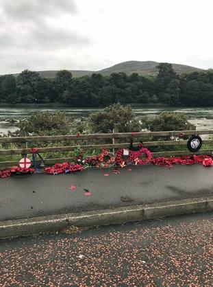 Narrow Water Massacre memorial vandalism