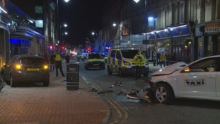 Police say serious crash in Carlisle city centre was not a deliberate act