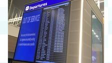 Screens at bristol airport