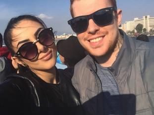 Mira Rojka and Joe Robinson