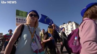 Lib Dems demand second Brexit referendum in Brighton march