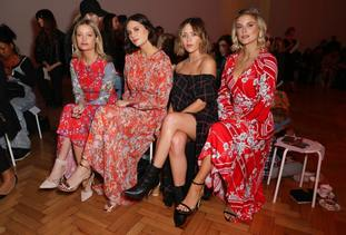 Preen by Thornton Bregazzi Front Row – London Fashion Week September 2018