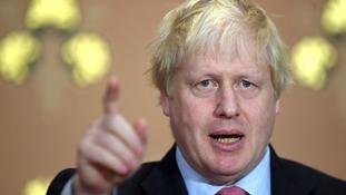 Theresa May's 'monstrosity' Irish border plans will end in 'spectacular political car crash' claims Boris Johnson
